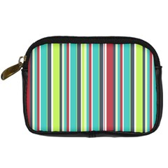 Colorful Striped Background. Digital Camera Cases