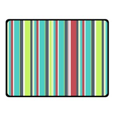 Colorful Striped Background. Fleece Blanket (Small)