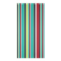 Colorful Striped Background. Shower Curtain 36  x 72  (Stall)