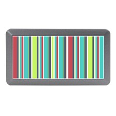 Colorful Striped Background. Memory Card Reader (Mini)