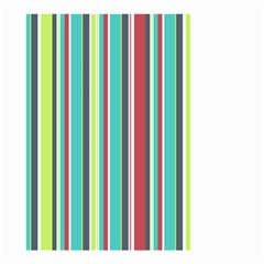 Colorful Striped Background. Small Garden Flag (Two Sides)
