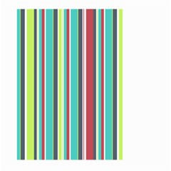 Colorful Striped Background. Large Garden Flag (Two Sides)