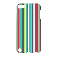 Colorful Striped Background. Apple iPod Touch 5 Hardshell Case