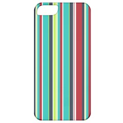 Colorful Striped Background. Apple iPhone 5 Classic Hardshell Case