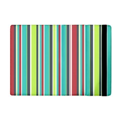 Colorful Striped Background. Apple iPad Mini Flip Case