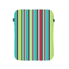 Colorful Striped Background. Apple iPad 2/3/4 Protective Soft Cases