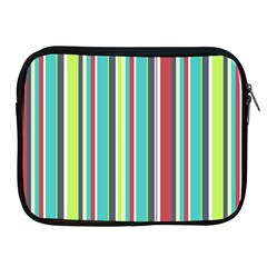 Colorful Striped Background. Apple iPad 2/3/4 Zipper Cases
