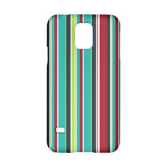 Colorful Striped Background. Samsung Galaxy S5 Hardshell Case
