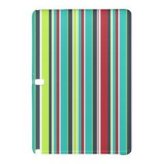 Colorful Striped Background. Samsung Galaxy Tab Pro 10.1 Hardshell Case
