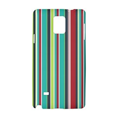 Colorful Striped Background. Samsung Galaxy Note 4 Hardshell Case