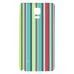 Colorful Striped Background. Galaxy Note 4 Back Case