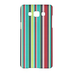 Colorful Striped Background. Samsung Galaxy A5 Hardshell Case