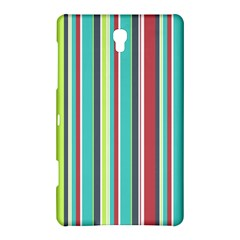 Colorful Striped Background. Samsung Galaxy Tab S (8.4 ) Hardshell Case