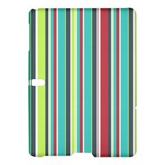 Colorful Striped Background. Samsung Galaxy Tab S (10.5 ) Hardshell Case