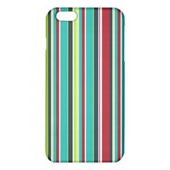 Colorful Striped Background. iPhone 6 Plus/6S Plus TPU Case