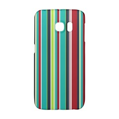 Colorful Striped Background. Galaxy S6 Edge