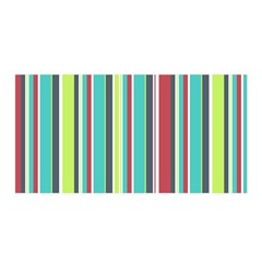 Colorful Striped Background. Satin Wrap