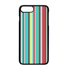 Colorful Striped Background. Apple iPhone 7 Plus Seamless Case (Black)