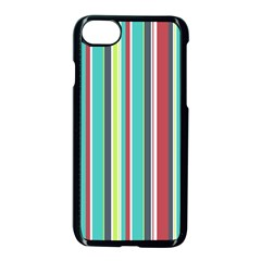 Colorful Striped Background. Apple iPhone 7 Seamless Case (Black)