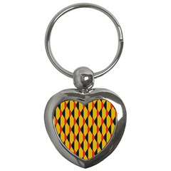 Triangles pattern       Key Chain (Heart)