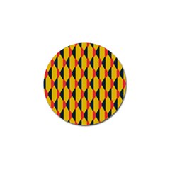 Triangles pattern       Golf Ball Marker (4 pack)