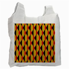 Triangles pattern       Recycle Bag (One Side)