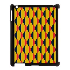 Triangles pattern Apple iPad Mini Hardshell Case (Compatible with Smart Cover)