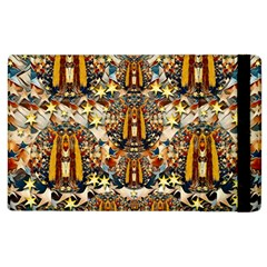 Lady Panda Goes Into The Starry Gothic Night Apple iPad 3/4 Flip Case