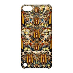 Lady Panda Goes Into The Starry Gothic Night Apple iPod Touch 5 Hardshell Case with Stand