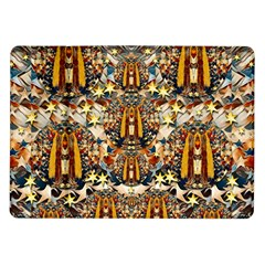 Lady Panda Goes Into The Starry Gothic Night Samsung Galaxy Tab 10.1  P7500 Flip Case