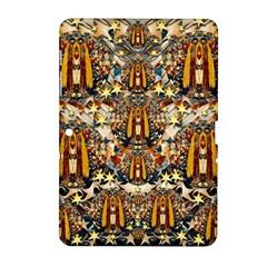 Lady Panda Goes Into The Starry Gothic Night Samsung Galaxy Tab 2 (10 1 ) P5100 Hardshell Case