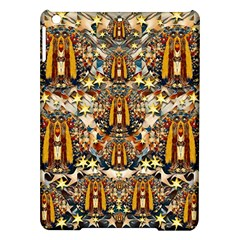 Lady Panda Goes Into The Starry Gothic Night iPad Air Hardshell Cases