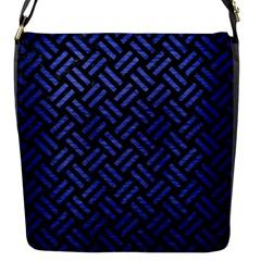 WOV2 BK-MRBL BL-BRSH Flap Messenger Bag (S)