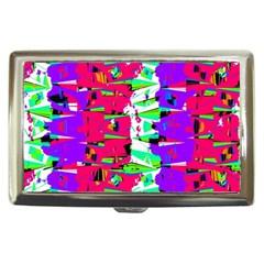 Colorful Glitch Pattern Design Cigarette Money Cases