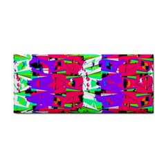 Colorful Glitch Pattern Design Cosmetic Storage Cases