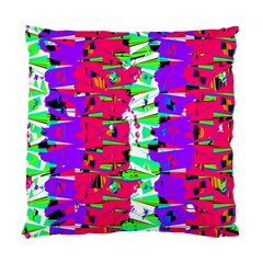 Colorful Glitch Pattern Design Standard Cushion Case (One Side)