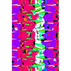 Colorful Glitch Pattern Design 5.5  x 8.5  Notebooks