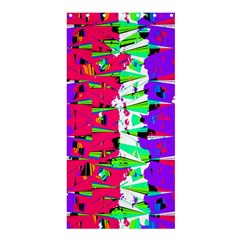 Colorful Glitch Pattern Design Shower Curtain 36  x 72  (Stall)