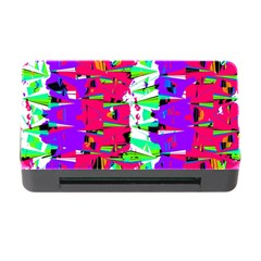 Colorful Glitch Pattern Design Memory Card Reader with CF