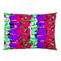 Colorful Glitch Pattern Design Pillow Case (Two Sides)
