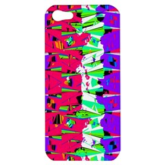 Colorful Glitch Pattern Design Apple iPhone 5 Hardshell Case