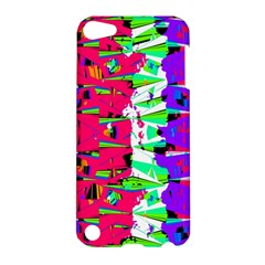 Colorful Glitch Pattern Design Apple iPod Touch 5 Hardshell Case