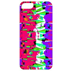 Colorful Glitch Pattern Design Apple iPhone 5 Classic Hardshell Case