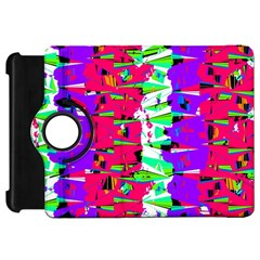 Colorful Glitch Pattern Design Kindle Fire HD 7