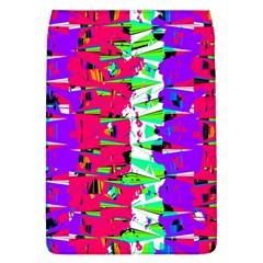 Colorful Glitch Pattern Design Flap Covers (L)