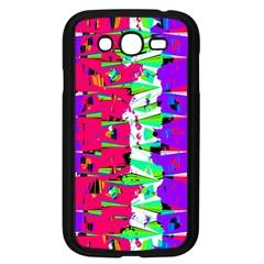 Colorful Glitch Pattern Design Samsung Galaxy Grand DUOS I9082 Case (Black)