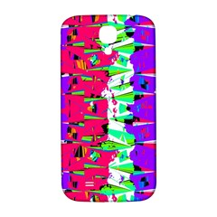 Colorful Glitch Pattern Design Samsung Galaxy S4 I9500/I9505  Hardshell Back Case