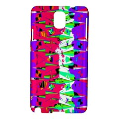 Colorful Glitch Pattern Design Samsung Galaxy Note 3 N9005 Hardshell Case