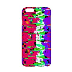 Colorful Glitch Pattern Design Apple iPhone 6/6S Hardshell Case