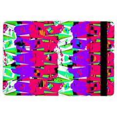 Colorful Glitch Pattern Design iPad Air 2 Flip